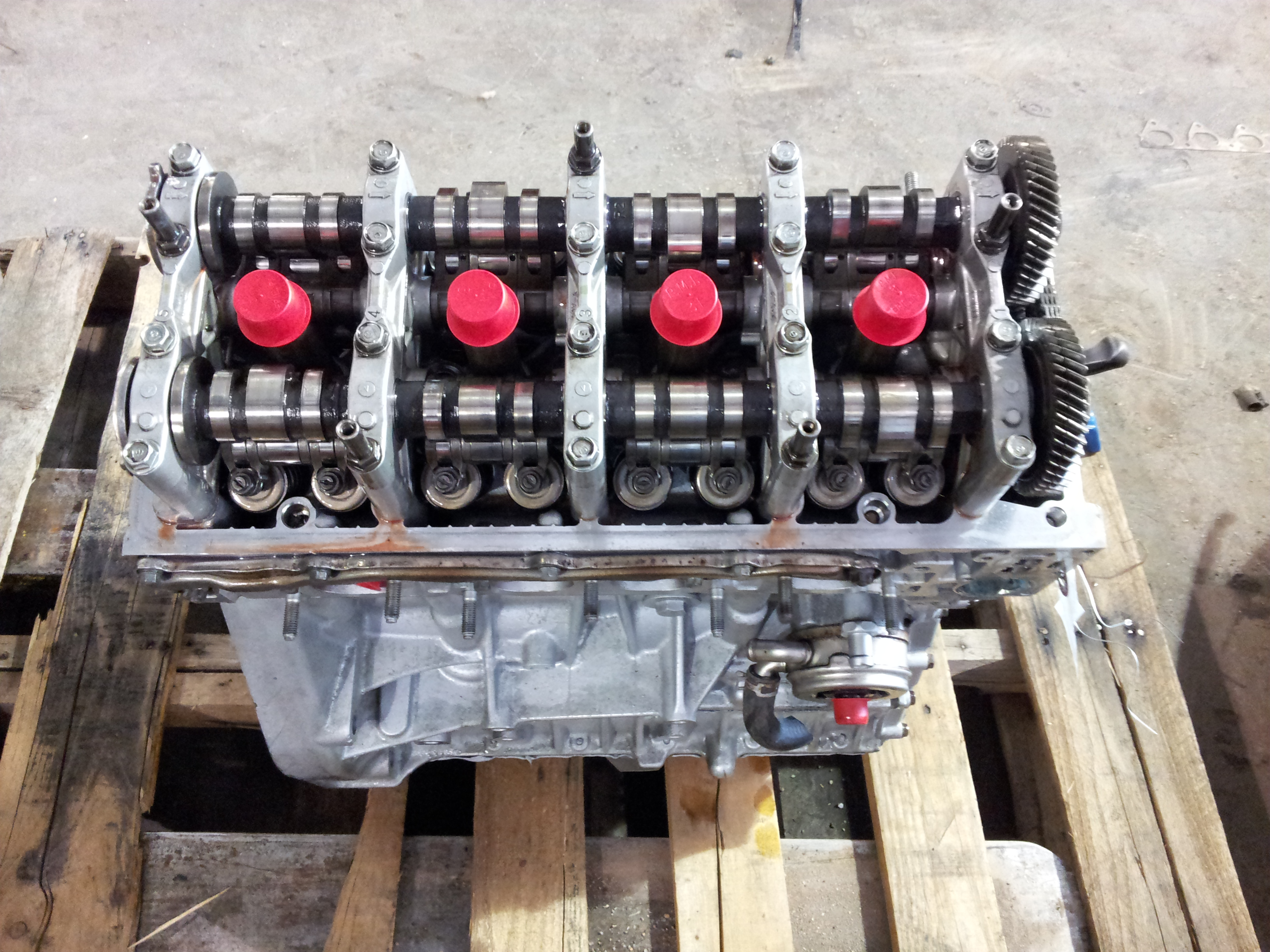 Large B A B E B Dfc Ea on Honda Civic Rebuilt Engines